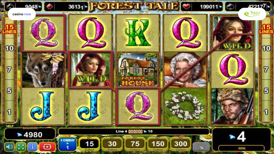 Forest Tale, EGT Interactive, RTP , Max Bet , Min Bet